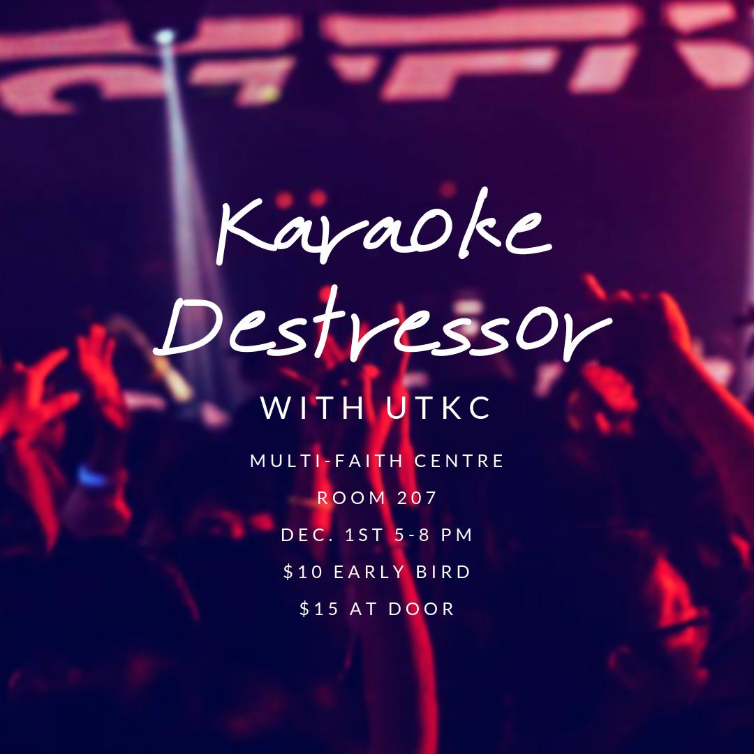 Karaoke Destressor